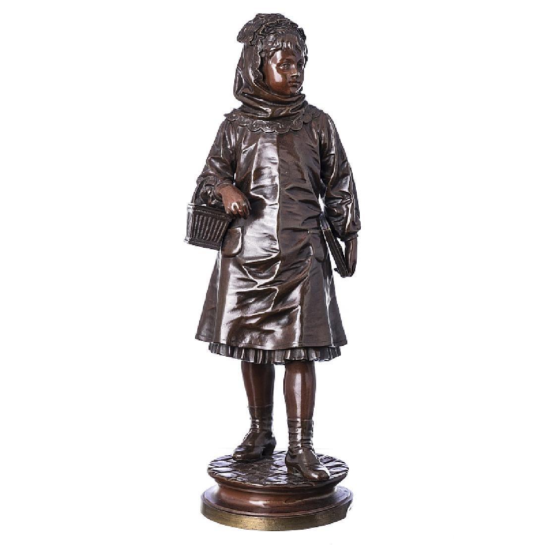 EUTROPE BOURET (1833-1906) - Feminine figure