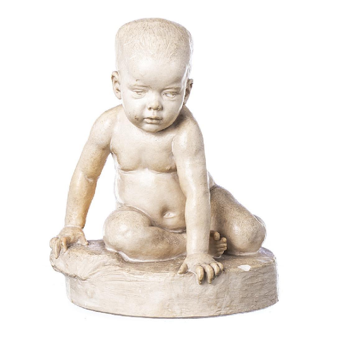 TEIXEIRA LOPES (1866-1942) - Boy