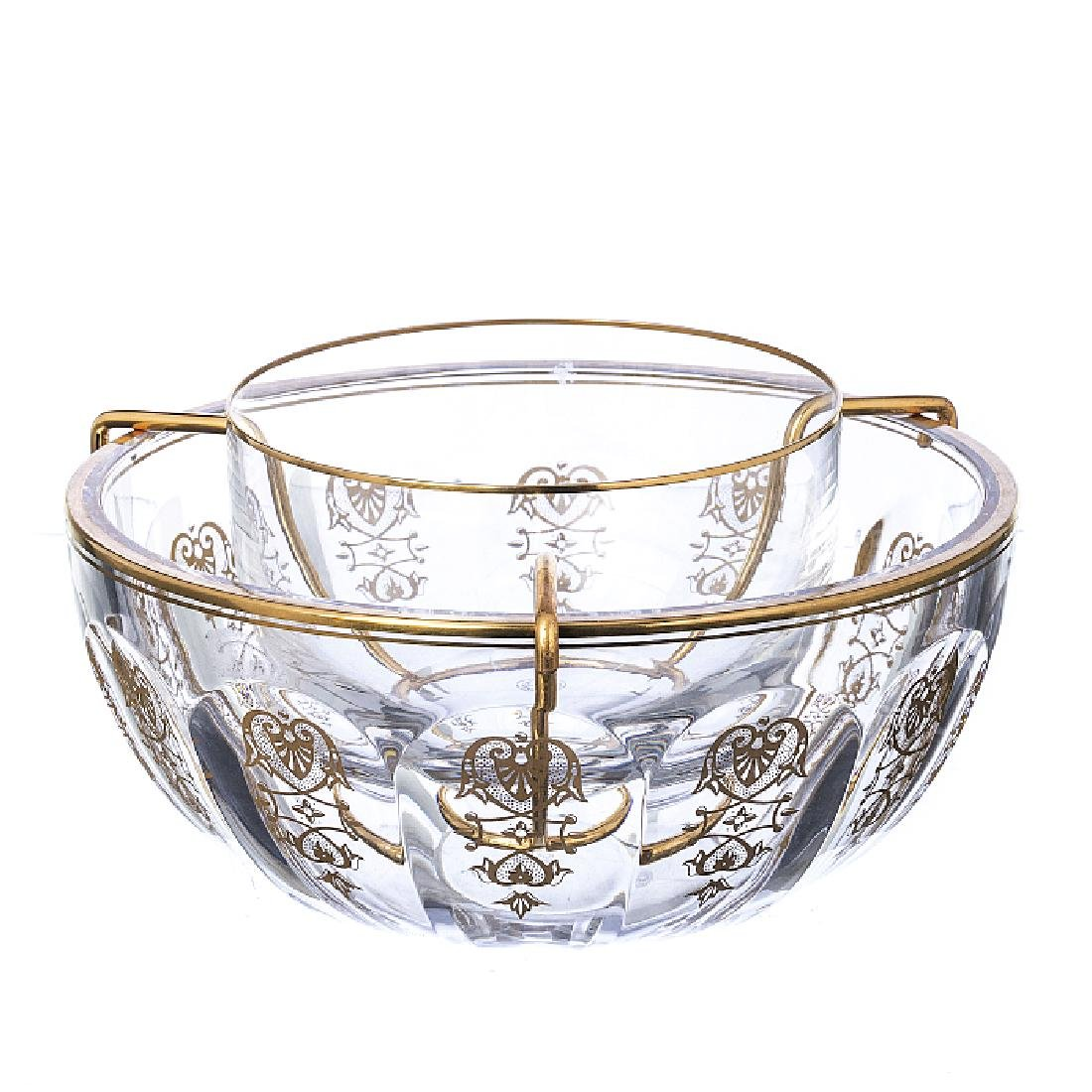 BACCARAT - Bowl in crystal