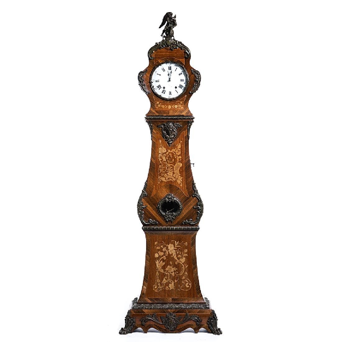 Dutch long case clock