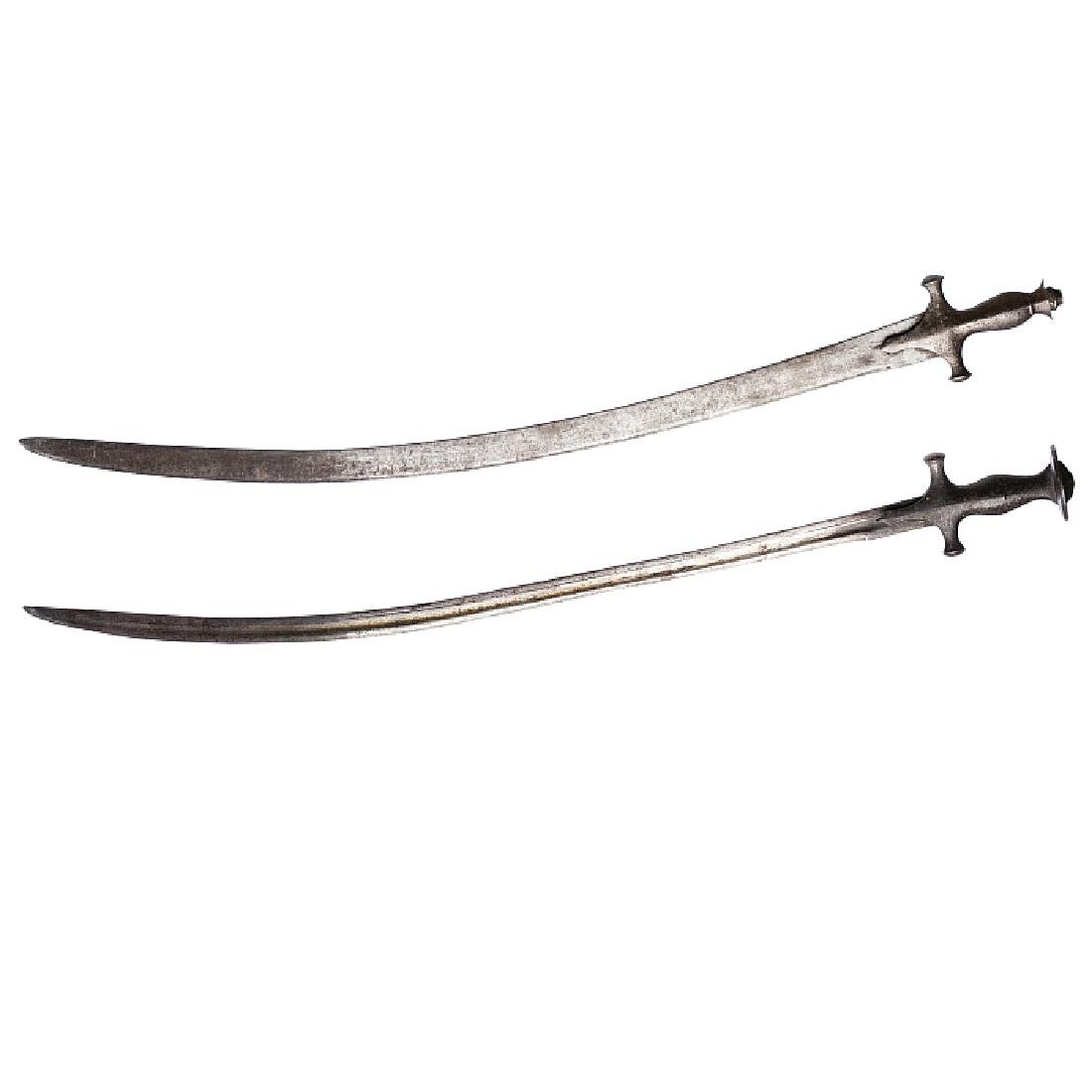 Tulwar - Two Indian swords