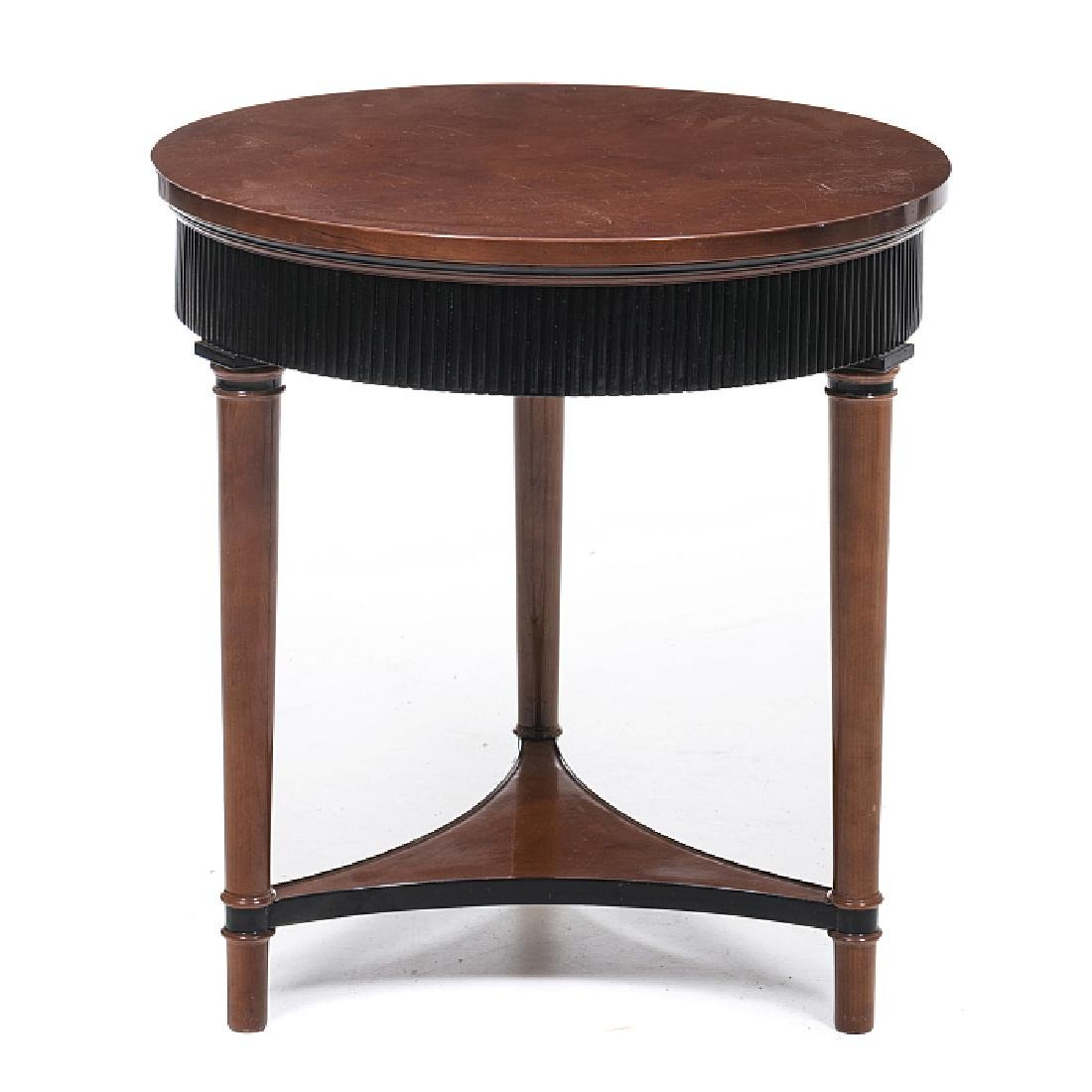 Biedermeier support table
