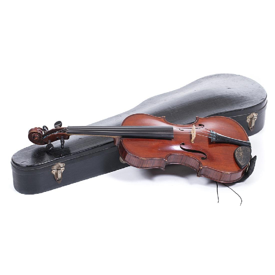 Violin with a case