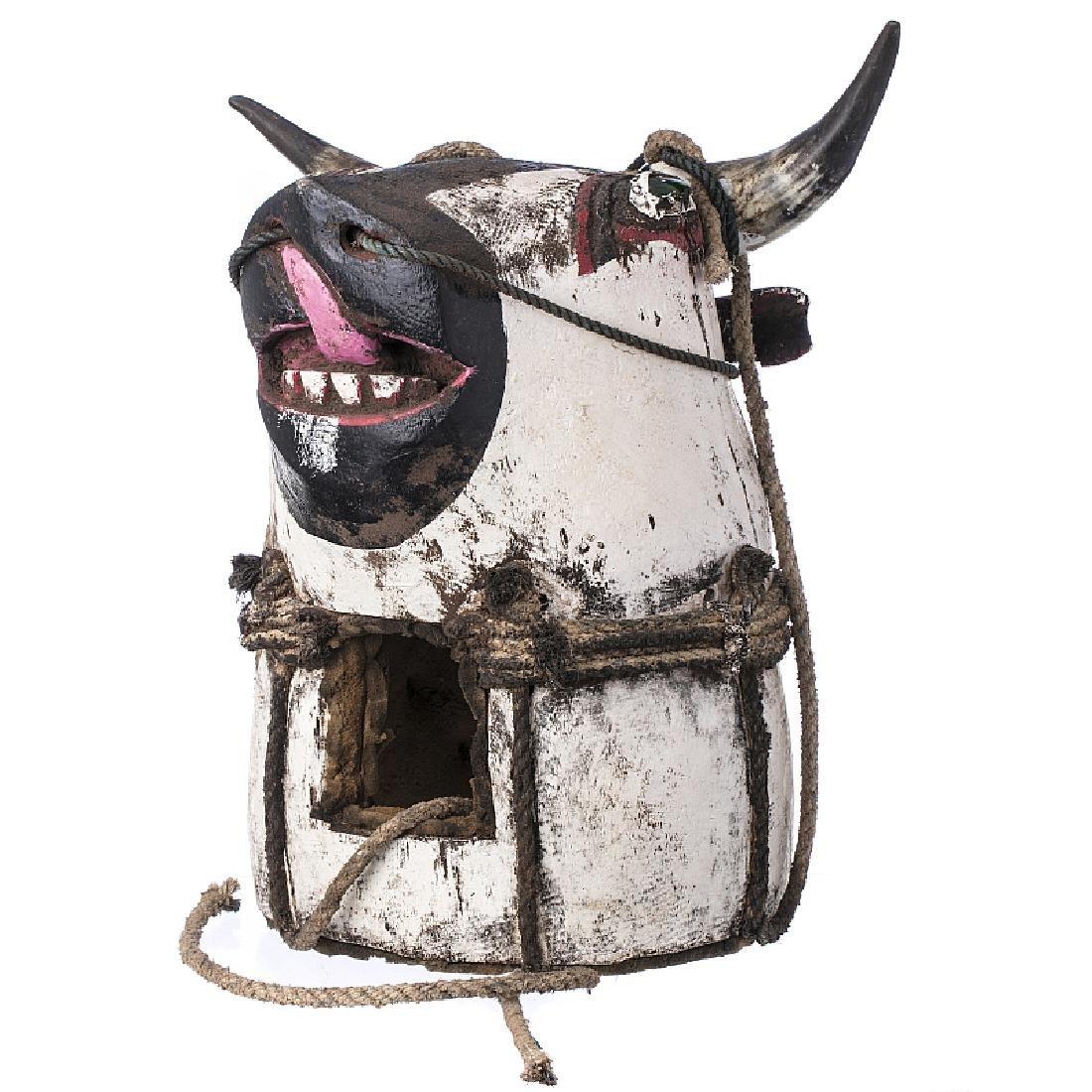 BIDJOGO - Vaca Brutu head mask