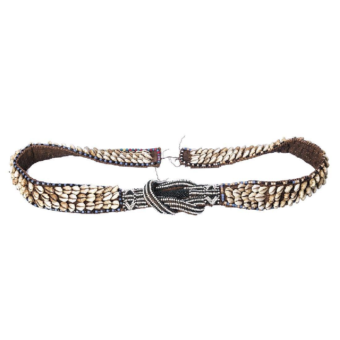 KUBA - Adornment / Belt with Cauri