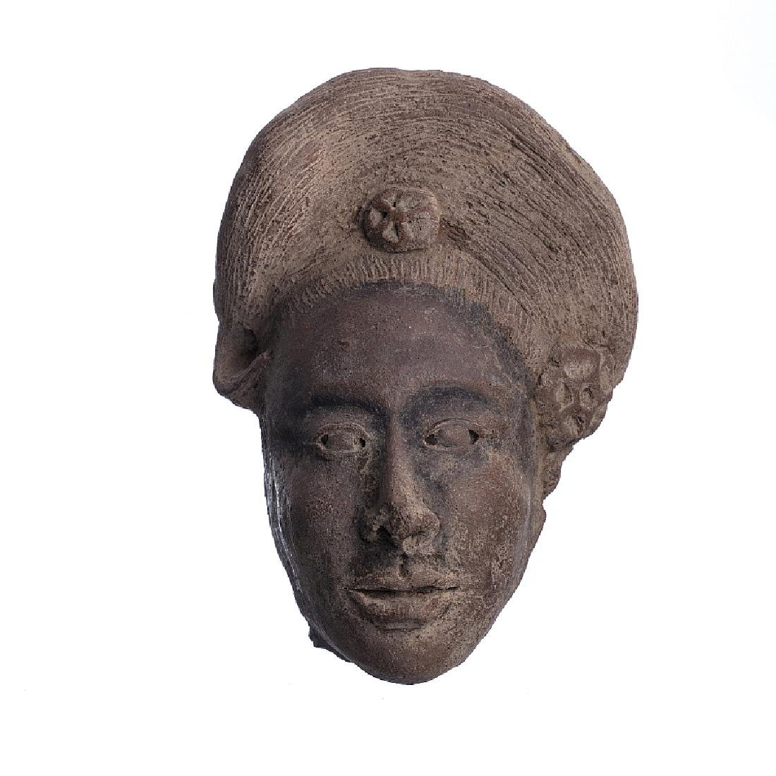 MAJAPAHIT - Male terracotta head