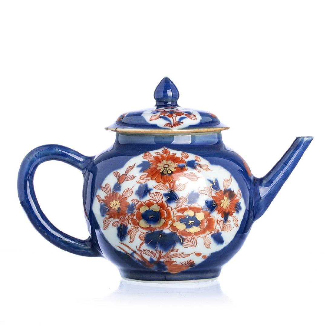 Chinese Porcelain Powder BlueTeapot, Kangxi