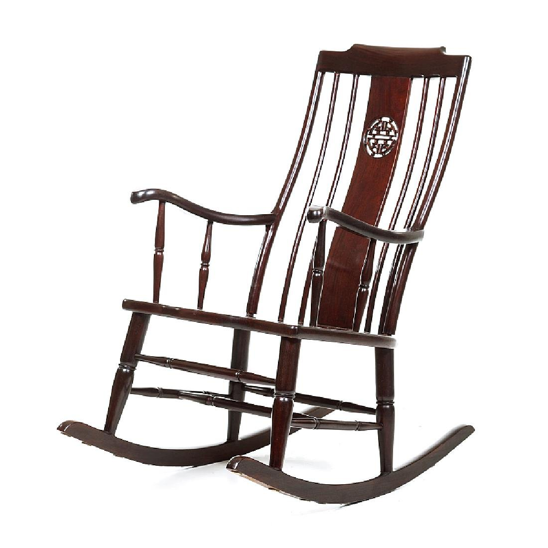 Chinese rocking chair