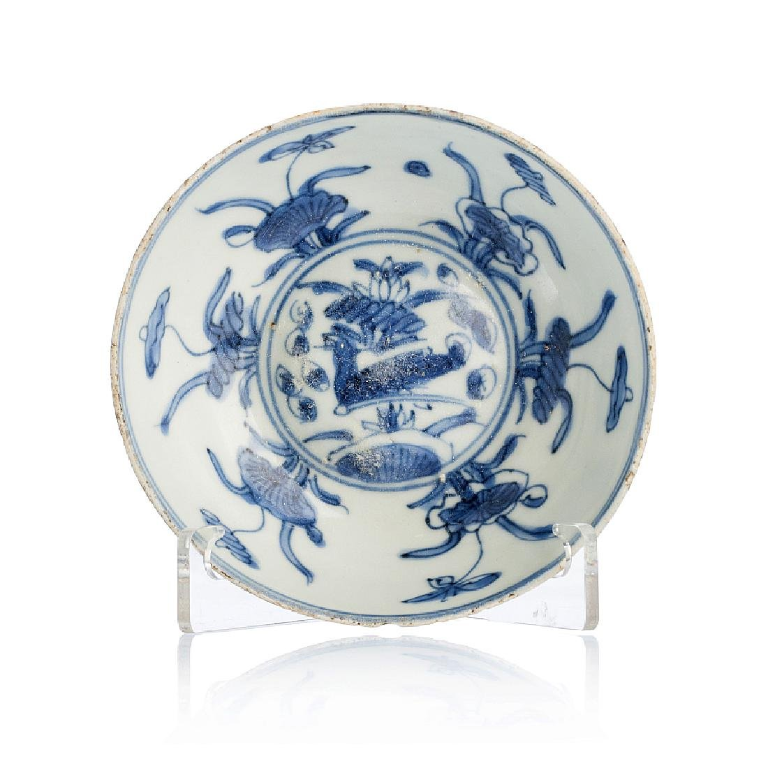 Small bowl in Chinese porcelain, Ming