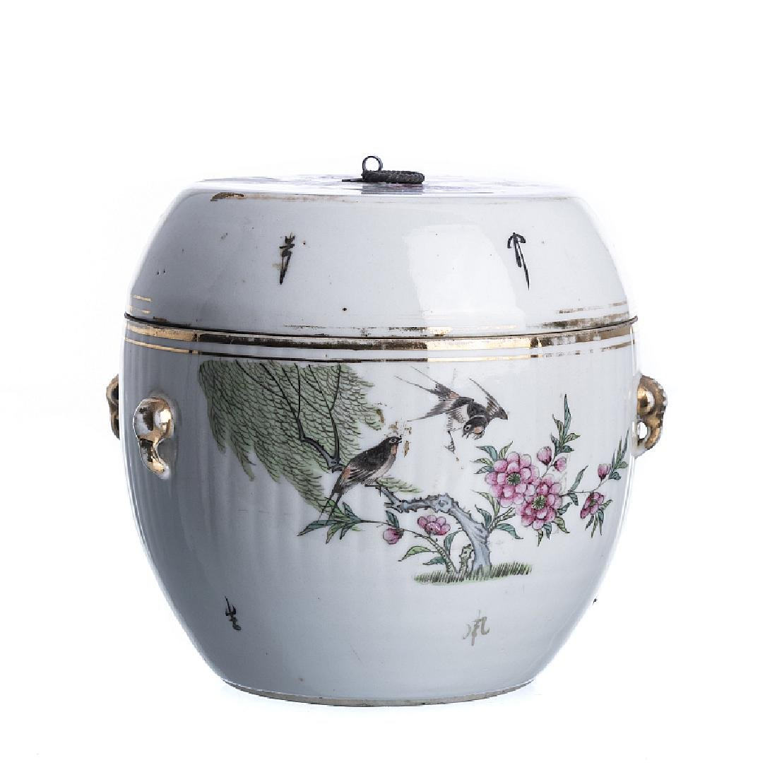 Chinese porcelain lid