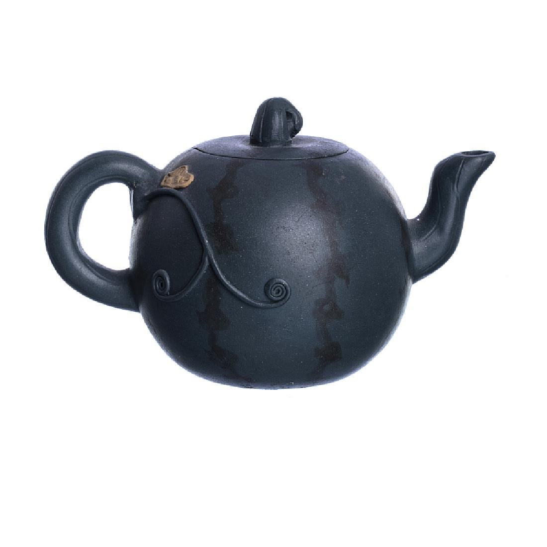 Yixing Chinese ceramic miniature teapot