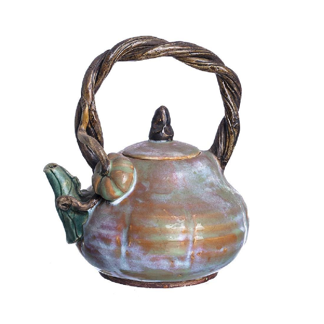 Chinese ceramic Sichuan teapot
