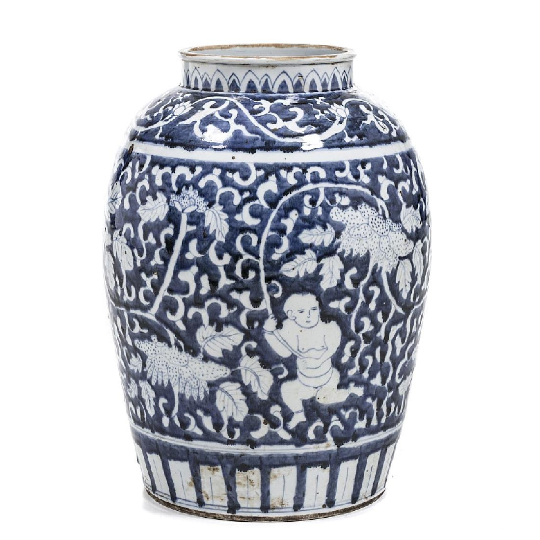 Pot 'boys' in Chinese porcelain
