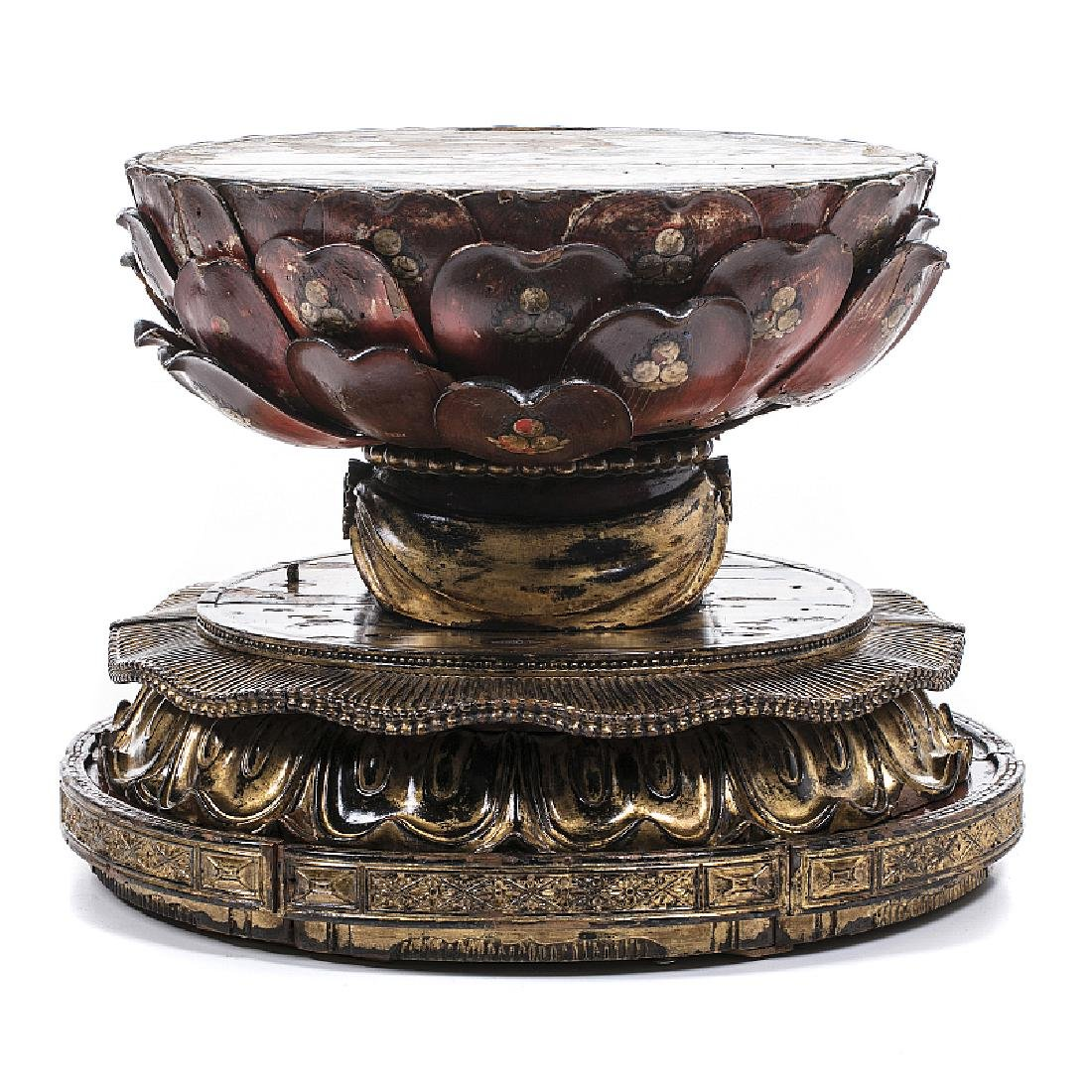 'Lacquer lotus' base in lacquer