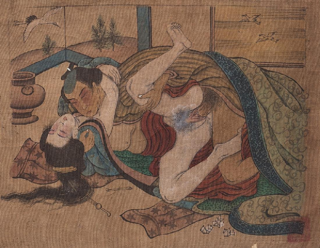Japanese erotic painting