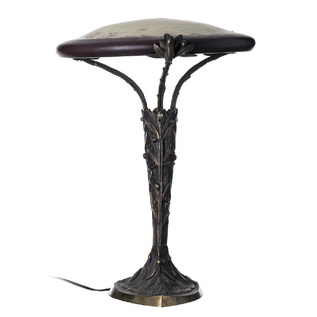 SCHNEIDER FRANCE - Art Nouveau lamp