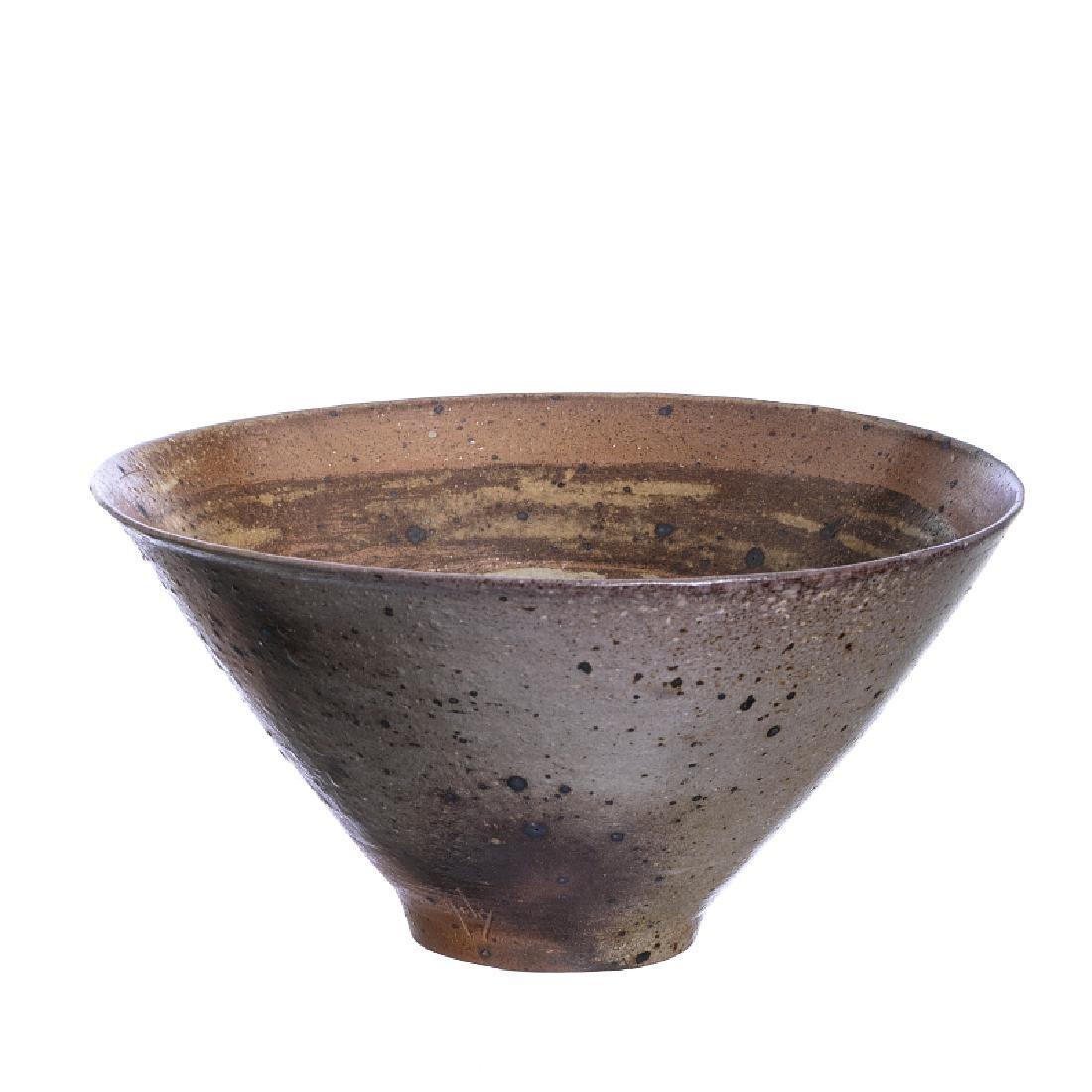 YVES MOHY (1929-2005) - Large Stoneware bowl