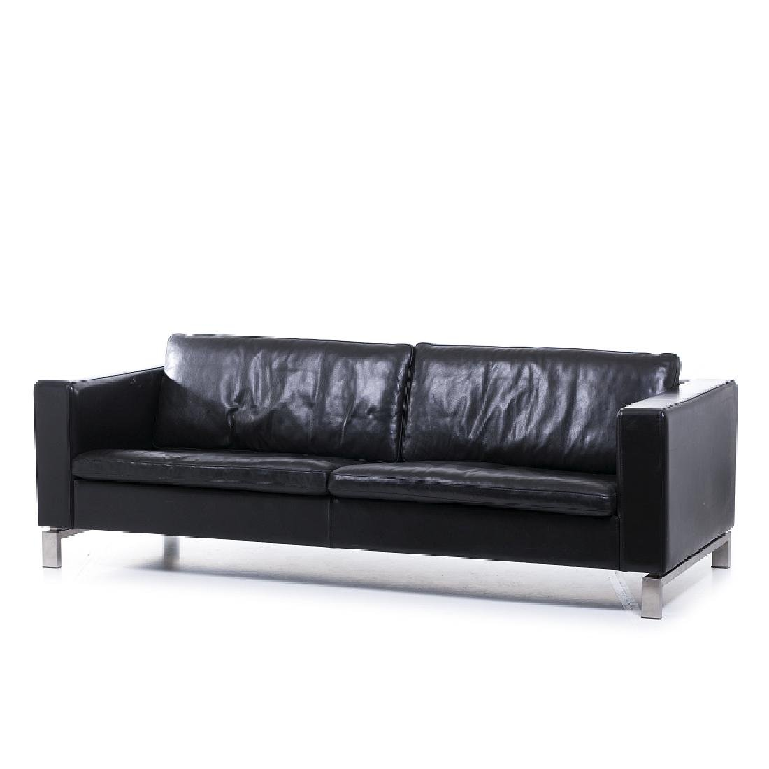 Modernist three-seat sofa