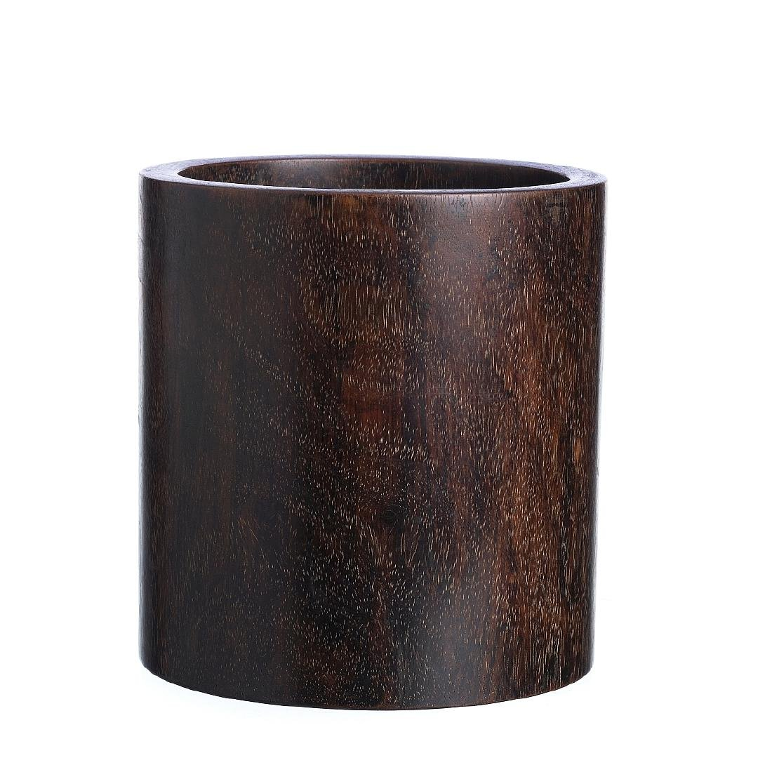 Brushpot in wood, Republic