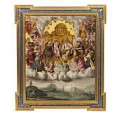 Attributable to MARTEN DE VOS (1532-1603 - Coronation