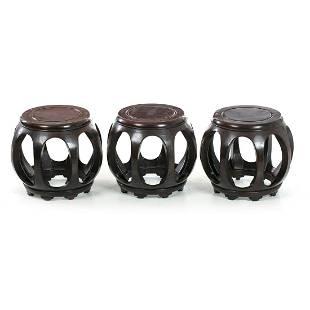 Three chinese stools Minguo