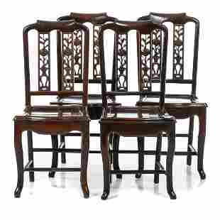 Four leaf chairs Minguo