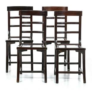 Four chinese chairs Minguo