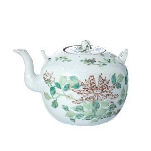 Chinese porcelain teapot Guangxu