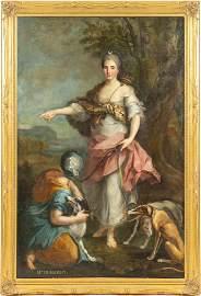 Follower of FRANÇOIS HUBERT DROUAIS (1727-1775) -