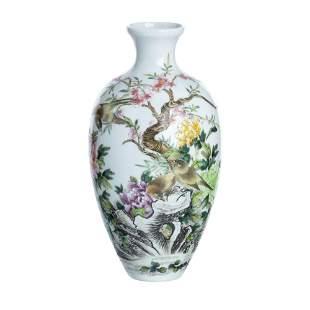 Chinese porcelain vase, Republic