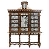 Large Italian style Cabinet on stand