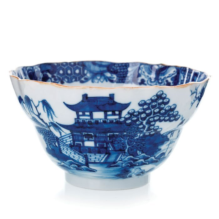 Blue bowl in Chinese Porcelain