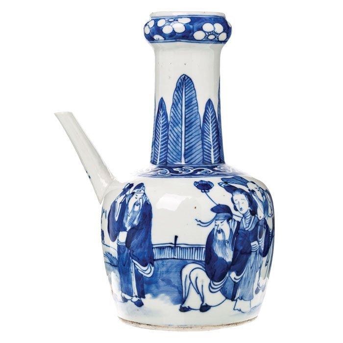 Jug wine 'immortal' porcelain of China, Guangxu