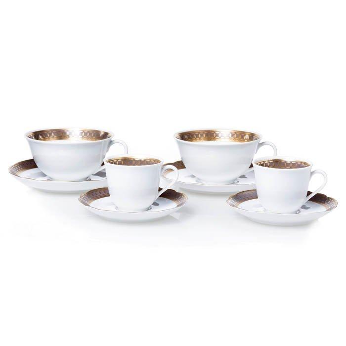 Tea and coffee set by Vista Alegre
