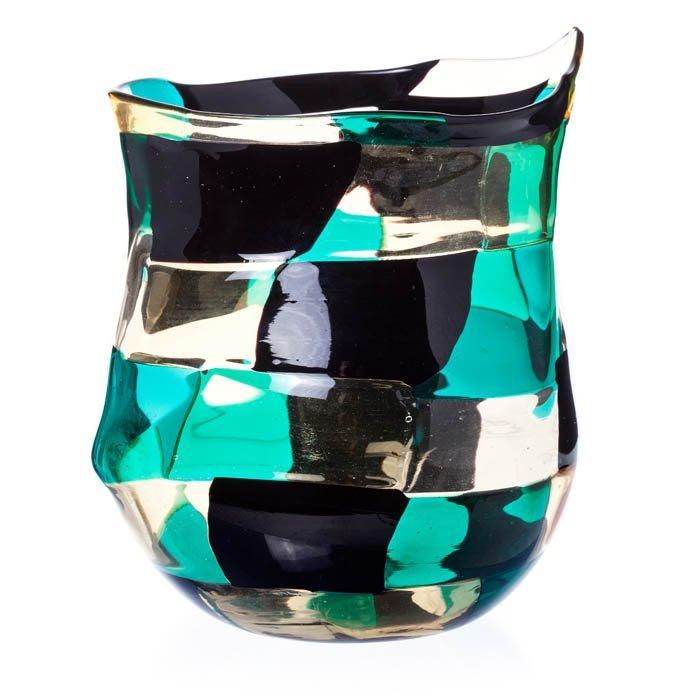 FULVIO BIANCONI (1915-1996) - Vase 'Pezzato' in Mu