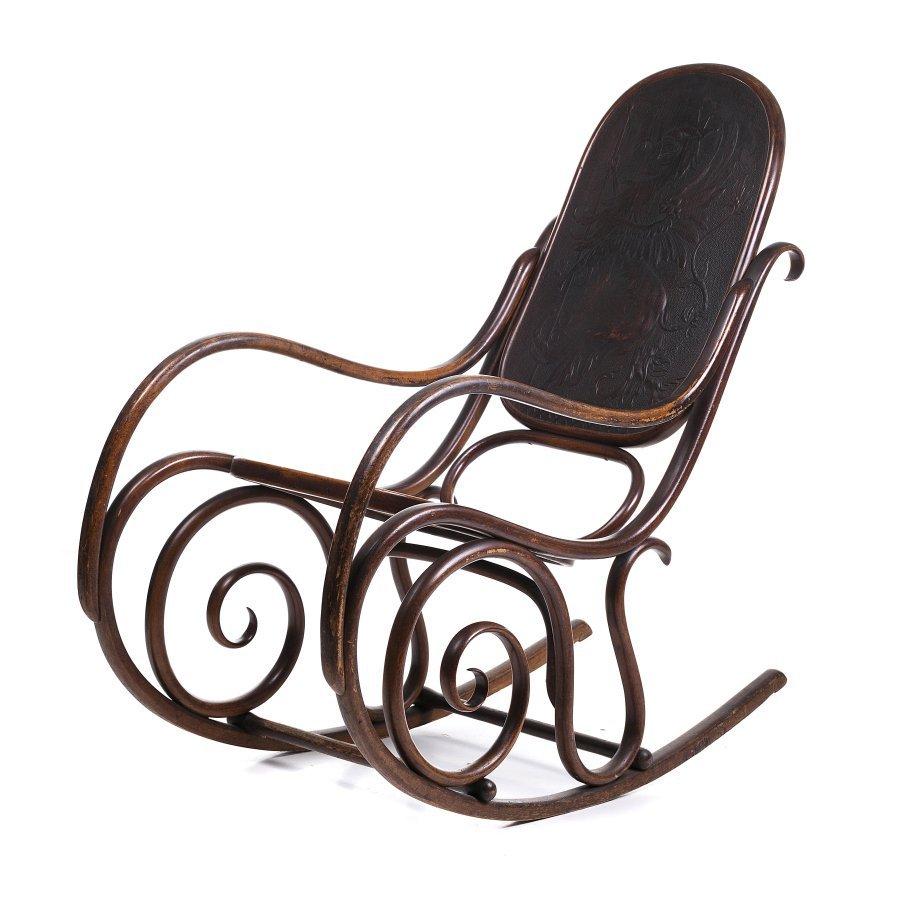 JACOB & JOSEF KOHN (19th/20th century) - Rocking chair