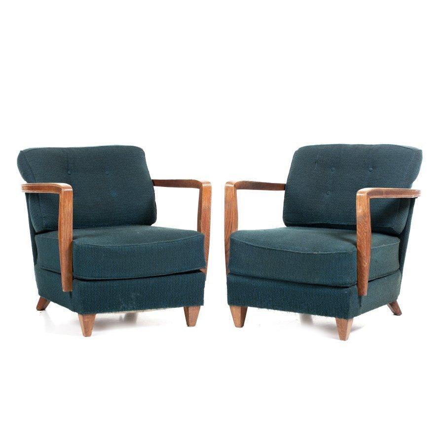 KEIL DO AMARAL (1910-1975) - Pair of armchairs