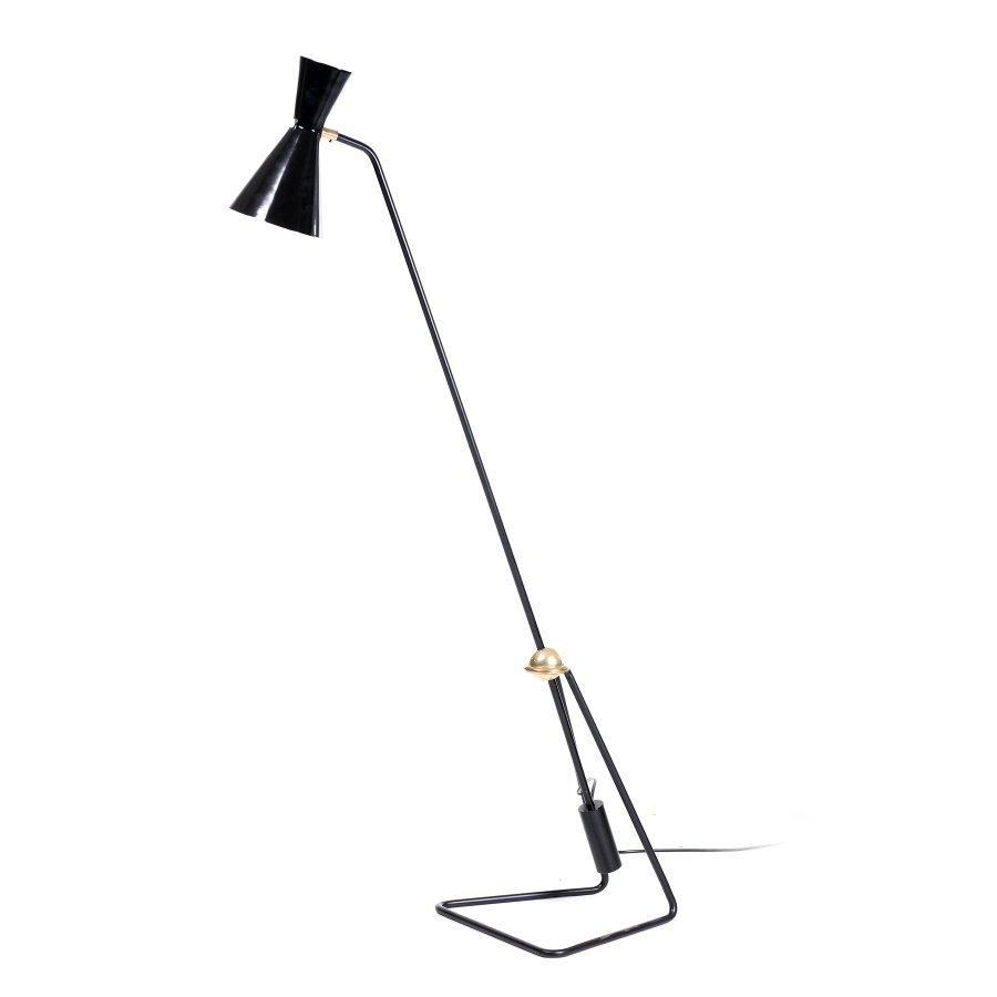 PIERRE GUARICHE (1926-1995) (attr.) - Standing lamp
