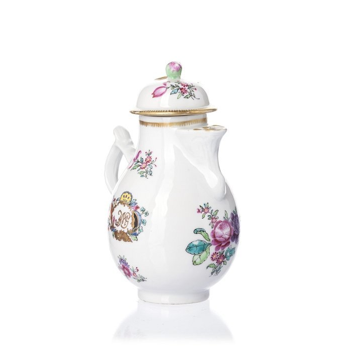 Milk jug in Chinese porcelain, Qianlong