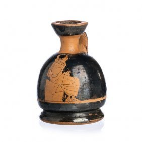 Paunchy Greek Lekythos