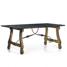 Modernist Table Spanish Colonial Style