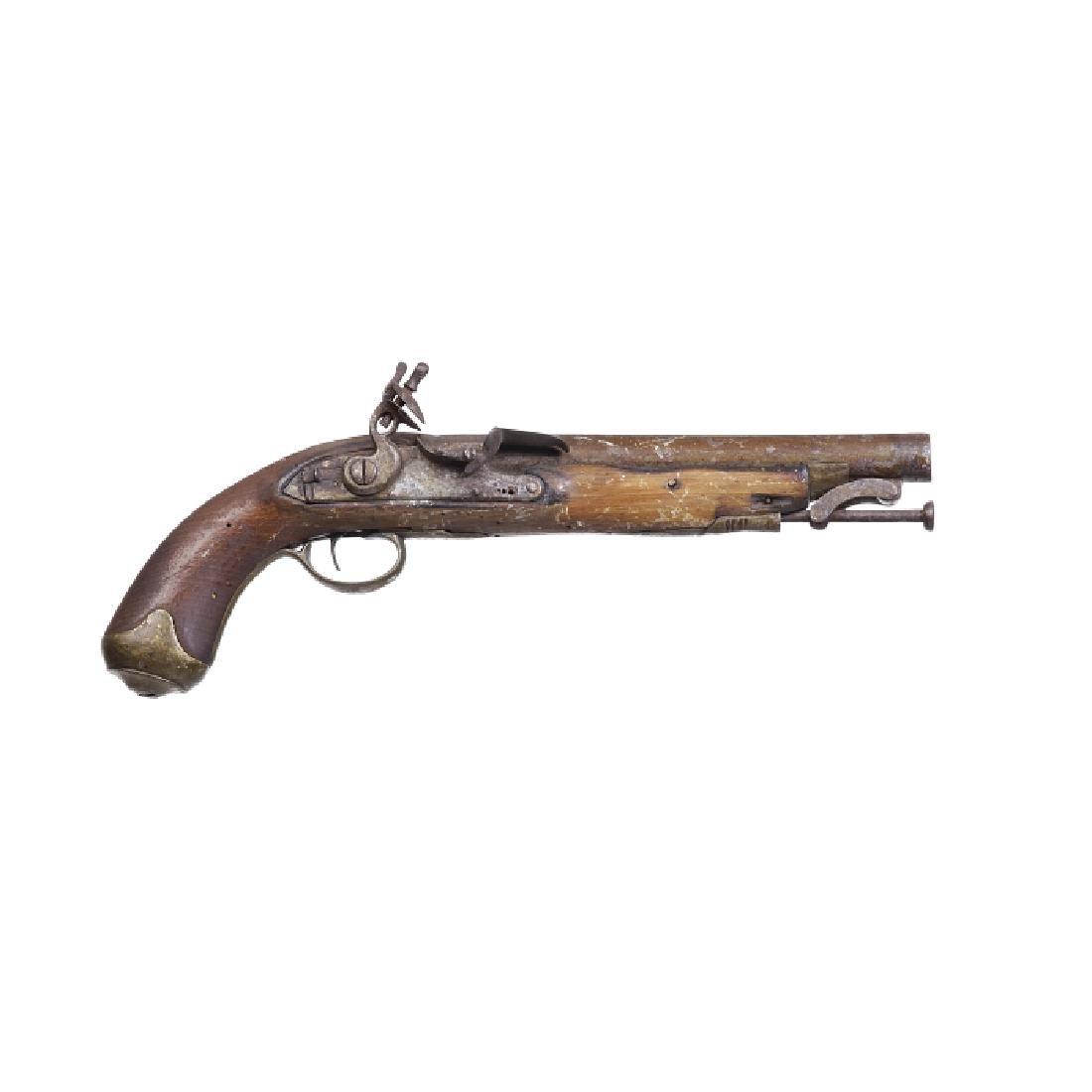 English military flintlock pistol