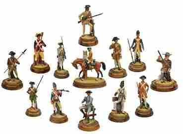 ROYAL DOULTON FIGURES, SOLDIERS OF THE REVOLUTION