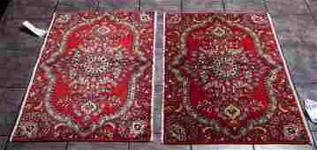 Persian Kashan Pair of rug