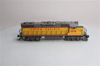 Mth Trains, 20-2188-1, Union Pacific, Emd Gp38-2, Diese
