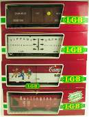 LOT OF 4 LGB collectible TRAIN