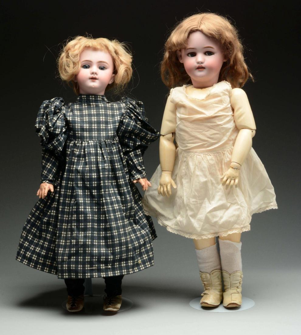 Lot Of 2: Mechanical R.D. Doll & DEP Walker Doll.