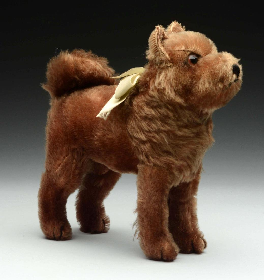 Rare & Lovely Steiff Chocolate Brown Chow Chow Brownie