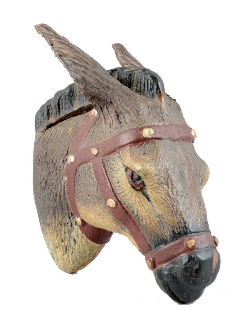 Lead Horse Head Still Bank.