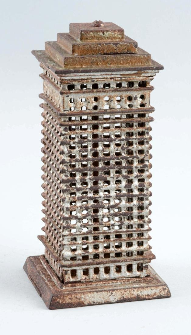 Cast Iron Kenton Skyscraper Still Bank. - 2